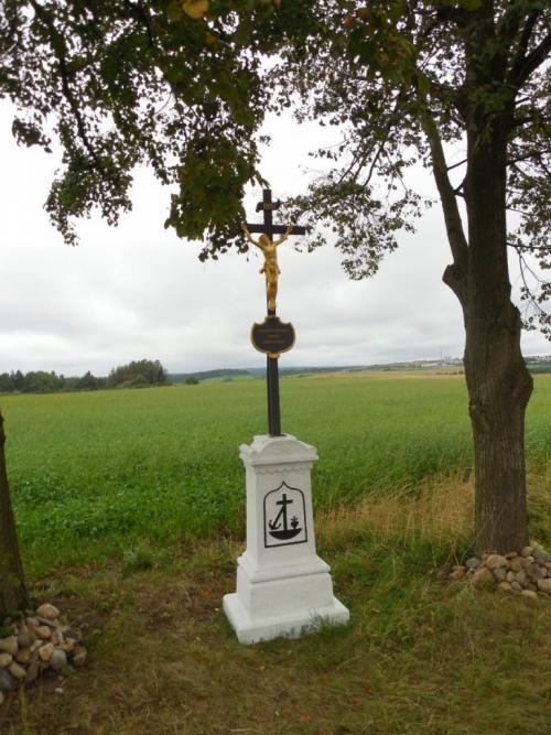 Kříž UPešíků - obnoven 2013
