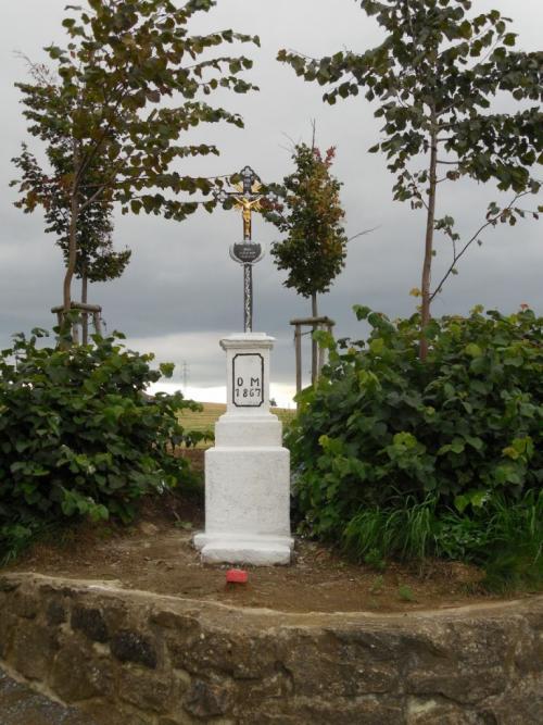 Oprmanovic kříž - obnoven 2013